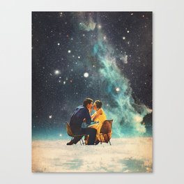 I'll Take you to the Stars for a second Date Canvas Print