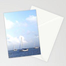 Sailboats   San Blas Panama Stationery Cards