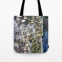 Fungus Tree Tote Bag