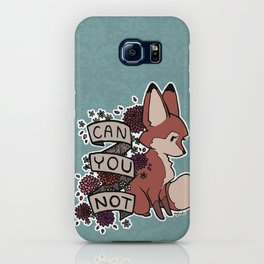 can you not iPhone Case