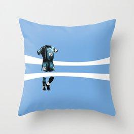 Maradona 10 Throw Pillow