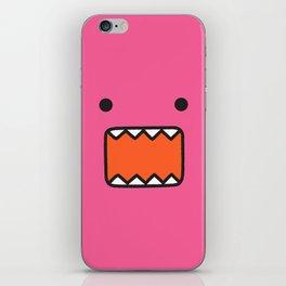 Pink domo iPhone Skin