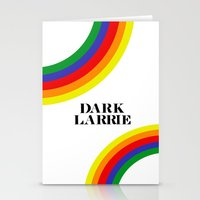 larry stylinson Stationery Cards featuring Dark Larrie (Larry Stylinson) by Arabella