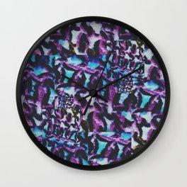 Rugwork Wall Clock