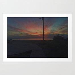 Kismet Colors Art Print