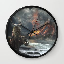 The Swarthy One Wall Clock