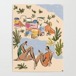 Italian Riviera Poster