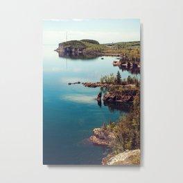 Faraway Shores Metal Print