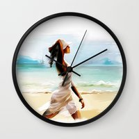 thailand Wall Clocks featuring Thailand by tatiana-teni