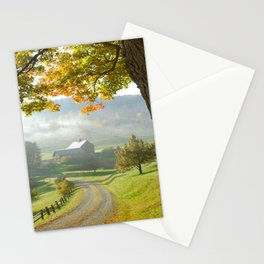 COUNTRY ROAD1 Stationery Cards