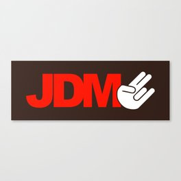 JDM shocker v5 HQvector Canvas Print
