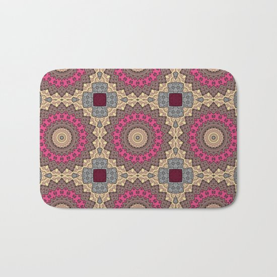 Lazy patchwork . Abstraction . Bath Mat