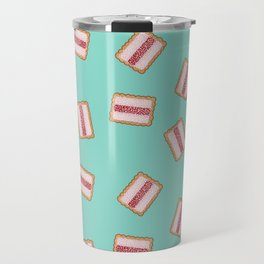 "Iced Vovo a GoGo in Aqua""The Aussie classic the Iced Vovo. Vanila, Raspberry, Coconut. Available in Travel Mug"