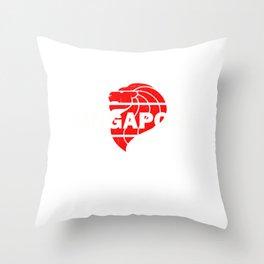 Singapore Travel Flag Souvenir Throw Pillow