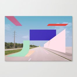 Constructed S7 Canvas Print