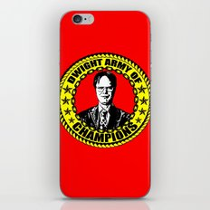 Dwight Schrute (Dwight Army Of Champions) iPhone & iPod Skin