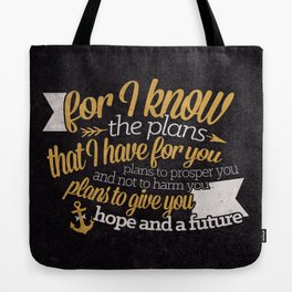 The Plans Tote Bag