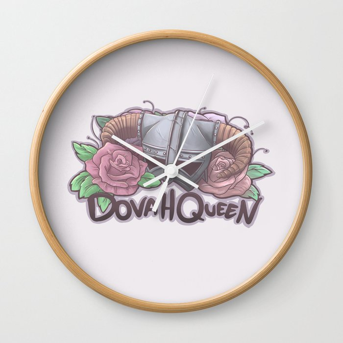 DovaQueen Wall Clock