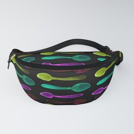 Colorful X-ray Spoons! Fanny Pack