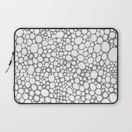 grey white grain Laptop Sleeve
