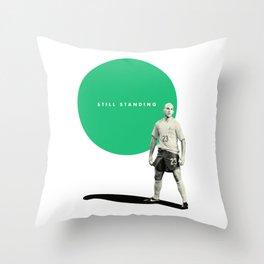 Mark Bresciano, Still Standing Throw Pillow