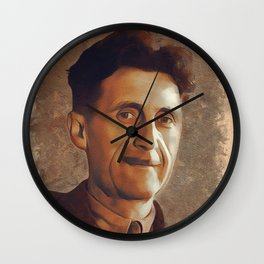 George Orwell, Author Wall Clock