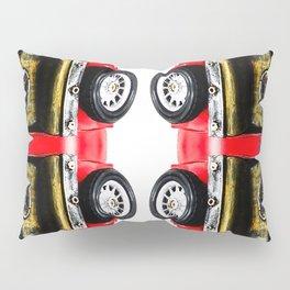 red classic car Pillow Sham