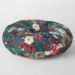 Night Garden Gr Floor Pillow