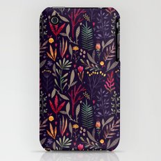 Botanical pattern Slim Case iPhone (3g, 3gs)