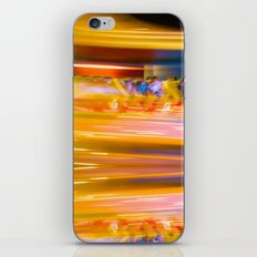 Night Light 131 - Roller Coaster iPhone & iPod Skin
