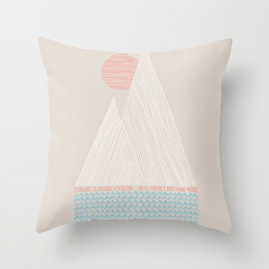 Nothing More Throw Pillow