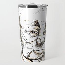 Cowardly Lion - If only Travel Mug