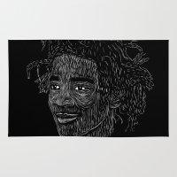 basquiat Area & Throw Rugs featuring Basquiat by William