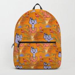 Cat Popart by Nico Bielow Backpack