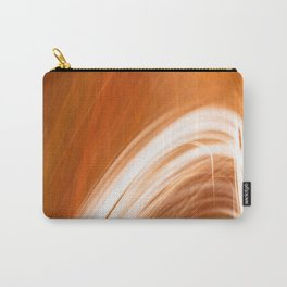 Abstract Light Streaks Carry-All Pouch
