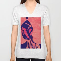 French Kiss Unisex V-Neck