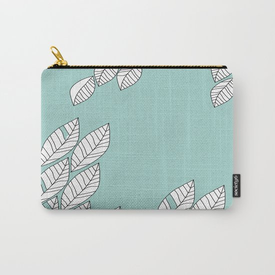 Leaves Stream 2 Carry-All Pouch