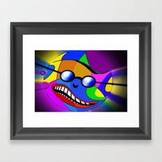 Paint ball.  Framed Art Print
