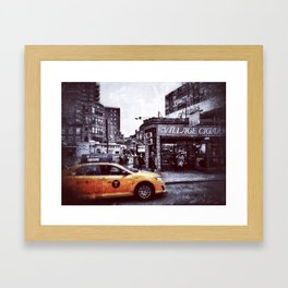 Village Cigars Framed Art Print