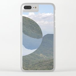 Slice of Paradise Clear iPhone Case
