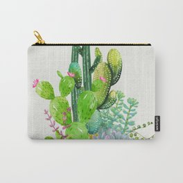 Cactus Garden II Carry-All Pouch
