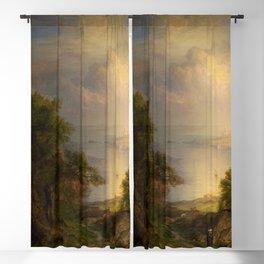 """Frederic Church """"Aegean Sea"""" Blackout Curtain"""