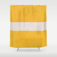 yellow classic Shower Curtain