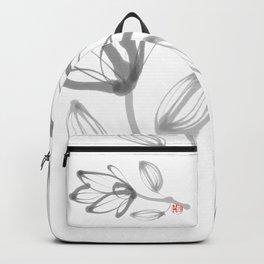 Flower in Ink Backpack