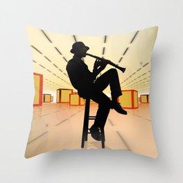 Cool Jazz 3 Throw Pillow