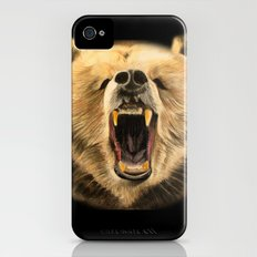 Roaring Bear iPhone (4, 4s) Slim Case