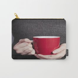 Red Mug Carry-All Pouch