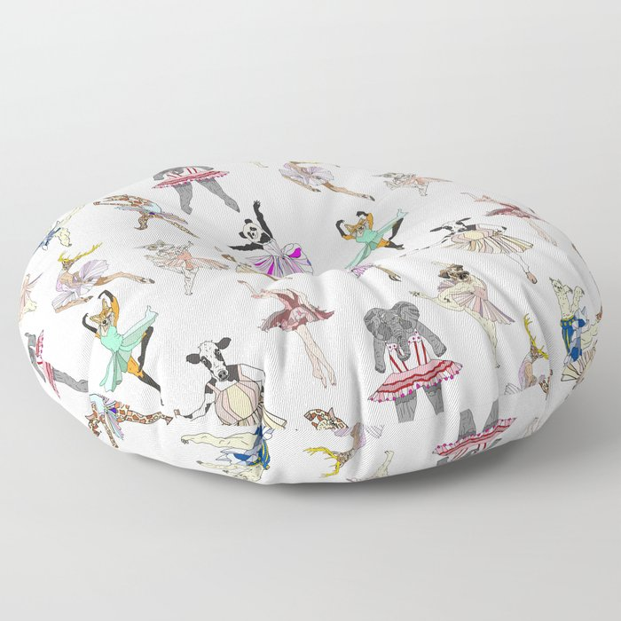 Animal Ballet Hipsters LV Floor Pillow