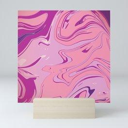 Ripple Rose, the Purple Swirl Mini Art Print