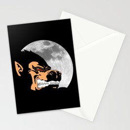 Night Monkey Stationery Cards